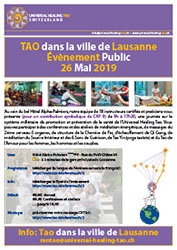 2019Event Tao in the city Lausanne F LV