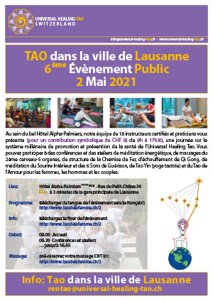 2021Event Tao in the city Lausanne front F